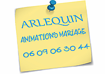 Arlequin - Animations Mariage