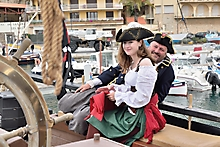 Bateau Pirate La Grace Sanary photographe var_97038