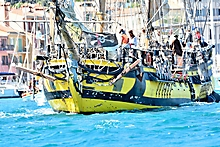 Bateau Pirate La Grace Sanary photographe var_97850