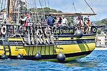 Bateau Pirate La Grace Sanary photographe var_98007